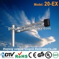 Para tdt antena de televisión de alta definición 20-ex modelo