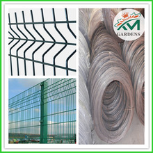 High quality 3d 4d welded curved wire mesh pool fence panel