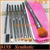 Pink Cosmetic Makeup Brushes Free Samples With Custom Logo Makeup Brush Set 8 Piece