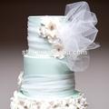 Por atacado crystal tulle tecido para o natal decoração de casamento