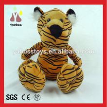 Wholesale Promotion Plush Cute Stuffed Tiger / Custom Stuffed Toys For Christmas / Christmas Plush Toy