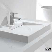 Bathroom polystone sink small wash basin