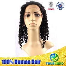 No Shedding No Tangle Highly Feedback Human Hair Short straight deep wave Bob 1# Glueless Full Lace 100% Human Hair Wig