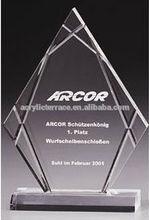 popular clear acrylic trophy award