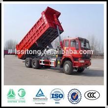 Competitive 3 axle Hydraulic Cylinder Dumping semi Trailer Rear Dump Truck semi Trailer for sale