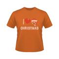 Hotsalei love de navidad de diamantes deimitación revisión t- camisetas para el regalo