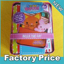 fashion fabric DIY cat for children diy crafts