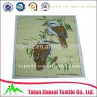 plain white cotton tea towel, custom tea towel printing, fabric for tea towel