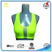 Light color &yong Ladies running sports bra