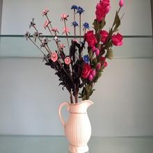 artificial foam vase flower home decor foam flower
