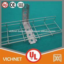 UL,CUL,CE,Rohs,SGS galvanized wire mesh straight tray