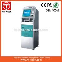 Bank self service terminal kiosk