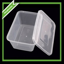 Disposable transparent plastic salad containers for sale