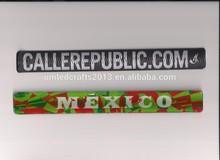 Custom led slap bracelet, 2014 promotional gift led slap bracelet