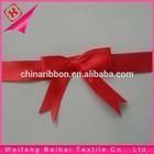 polyester satin ribbon bows making for gift