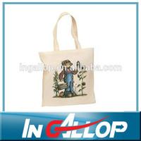 design your own book bag cotton bag