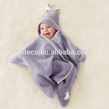 New Five Star Modeling Fleece Baby Wrap Bath Robe
