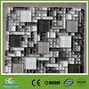 Elegant shape Black and white glass Mosaic