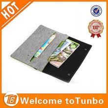 Custom felt case for ipad fancy laptop bag for teenage girls