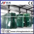 Ad alta resistenza di spessore 5-12mm formato su misura in vetro temperato