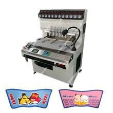 Easy operation 12 clolor PVC slipper upper making machine