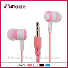 Mini Plastic in ear mp3 earphone cable reel for earphone