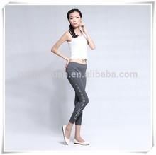Gray Spandex pants for girl,yuga pants