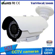 HOT SALE!2014 New model Vari-focal Bullet 700TVL/800TVL/900TVL/1200TVL waterproof IR day night shenzhen cctv camera