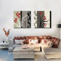 NEW abstract frameless oil painting for living room