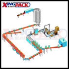 Full Auto Case Packaging Line(Manufacture Direct Sale)