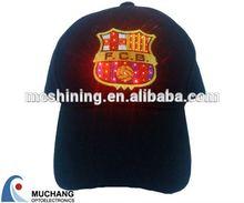 alibaba led snapback solar cap manufacturer