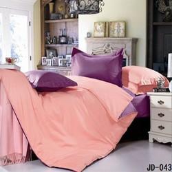 Romantic design Plain color best cotton bed sheet dealers in uae