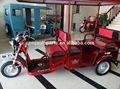 3 de la motocicleta de la rueda del coche/triciclo eléctrico/vespa triciclo de pasajeros/48v, minusválidos 60ah, triciclo eléctrico/tres ruedas eléctrica