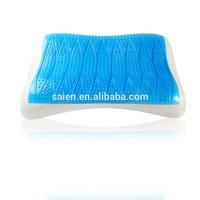 Gel memory foam home fashions international triangle pillow