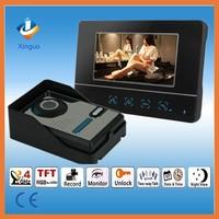 7 Inch Video Door Phone/ Wireless building Intercom system