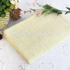 Hot Sale Yellow 100% Cotton Children Cellular Blanket