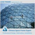 China produtos de importação grande extensão estrutura de aço de vidro clarabóia