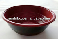 Cheap PP microwave soup bowl with lid