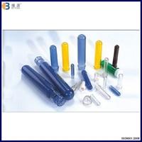 Factory price plastic PET preform, different color PET preform