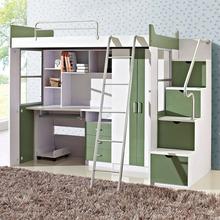 Spider Man Wooden green bedroom furniture for kids