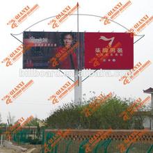 Outdoor advertising two-side scrolling billboard