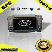 HYUNDAI SONATA car monitor DVD Bulit-in GPS/steering/radio/tv/ipod/bluetooth/option DVB-T/ ISDB-T ST-8607