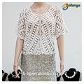 Blusas da senhora& tops tipo de produto de renda moda blusa nova oca com modelos de senhoras blusas de renda atacado