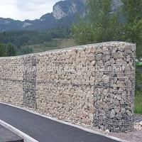 Welded gabion retaining wall /welded gabion/construction material