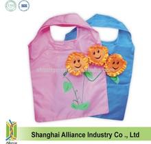 Cute Sunflower Foldable Bag / Sunflower Shape Folding Shopper