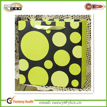 Custom design popular paper gift bag good price