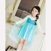Latest dress designs children girl dress fancy dress frozen princess elsa dress Cosplay Costume wholesale