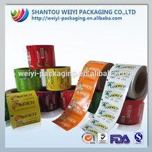 Popular cool printing candy/lollipop film manufacturer