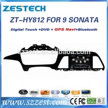 ZESTECH High performance dual-core A8 HD digital touch screen Car dvd gps player for HYUNDAI SONATA 2014 2015 9TH Generation