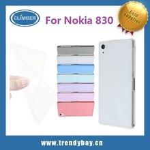 Wholesales Ultra slim transparent soft tpu for nokia lumia 830 back case cover